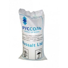 Соль поваренная пищевая молотая, затаренная в мешок по 50 кг