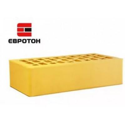 Кирпич желтый гладкий  1НФ  ЕВРОТОН